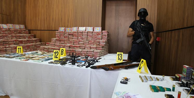 La Cocaïne saisie au port de Casablanca présente un taux de concentration de 97 %