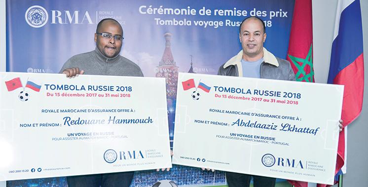 «Voyage en Russie» : Deux clients de la RMA réservent une place  au Mondial