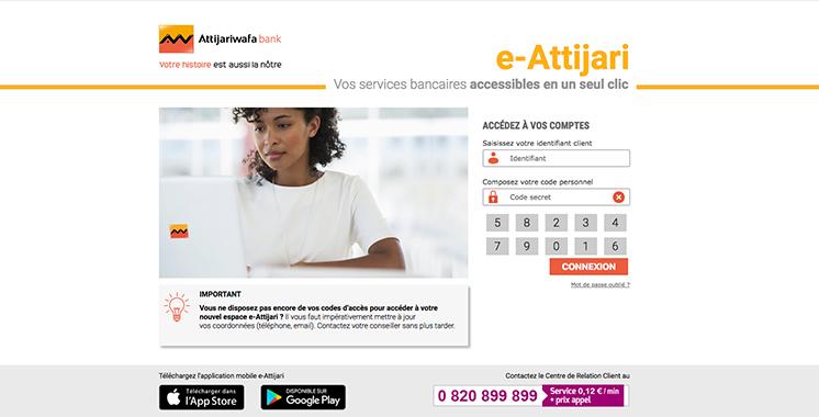 «Trans'compte» d'e-Attijari: Des transferts d'argent vers l'Afrique en quelques clics