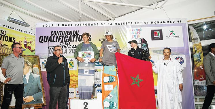 Qualifications continentales Afrique-Europe de kitesurf : Ouahmid décroche son ticket pour les JOJ de Buenos Aires