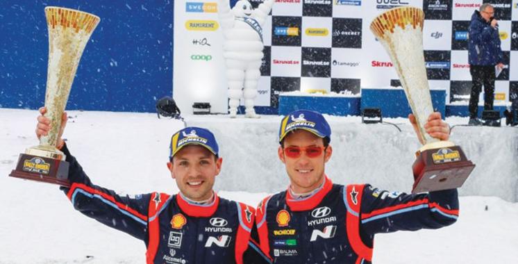 WRC : Thierry Neuville prend sa revanche  au Rallye de Suède