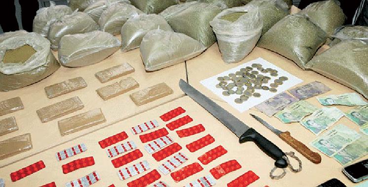 Saisie de drogues dures à Fès et Tanger