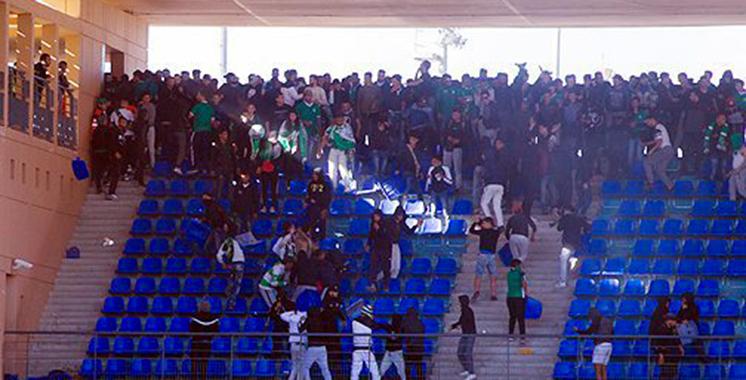 Vandalisme au stade de Marrakech : Deux matchs à huis clos et une amende de 50.000 dhs contre le Raja
