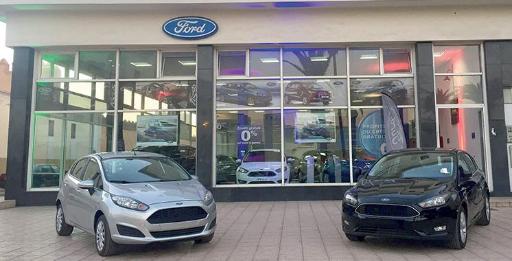 Ford dans le top 3 des marques les plus vendues au Maroc en 2017