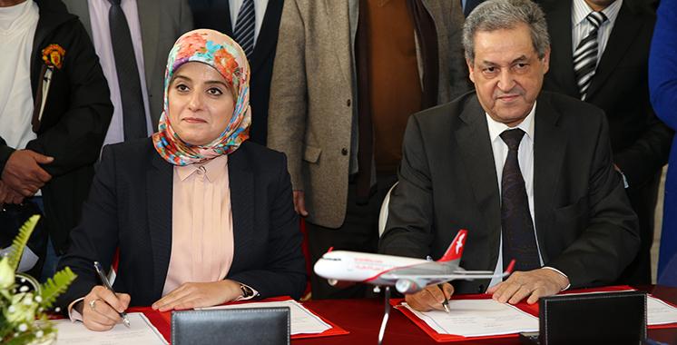 Signature d'une convention de partenariat entre Fès-Meknès et Air Arabia Maroc