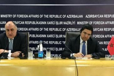 Sahara marocain: L'Azerbaïdjan soutient l'intégrité territoriale du Maroc et le plan d'autonomie