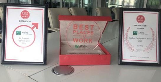 Meilleurs employeurs au Maroc :  Arval Maroc dans le top 5