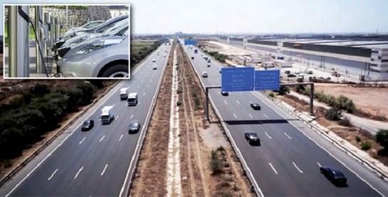 Autoroute Tanger-Agadir : Installation des bornes pour la recharge des véhicules électriques