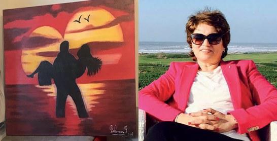 Fatiha Belmaâza, une artiste et un pinceau au sens spirituel