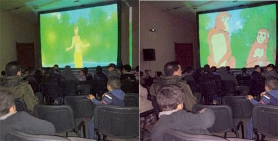 Ficam : Le temps d'une projection avec les enfants de l'ancienne médina de la cité ismaélite