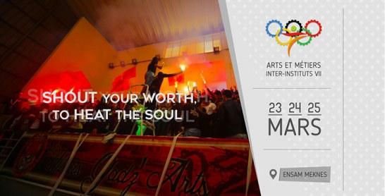 Meknès : L'Ensem organise l'Inter-Instituts Arts & Métiers