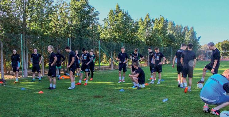 L'équipe norvégienne «Nest-sotra Fotball» en stage à Agadir