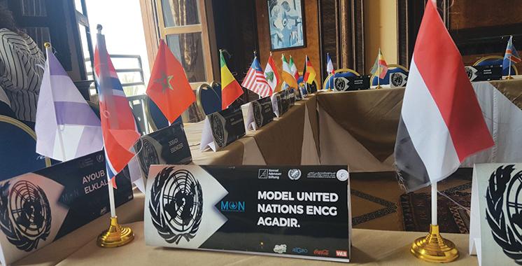 Une simulation organisée par l'ENCG Agadir  : Le Modèle des Nations Unies s'invite au Souss-Massa