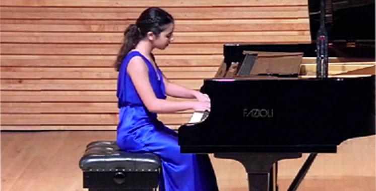 Concert de piano avec Aïda Lahlou  à la Villa des arts de Casablanca