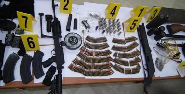 Rabat : Des armes à feu dissimulées dans un appartement à usage professionnel
