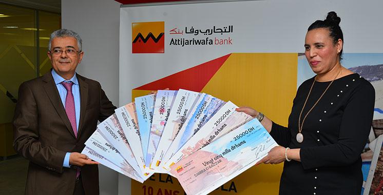 Attijariwafa bank dévoile la gagnante de la grande tombola MRE
