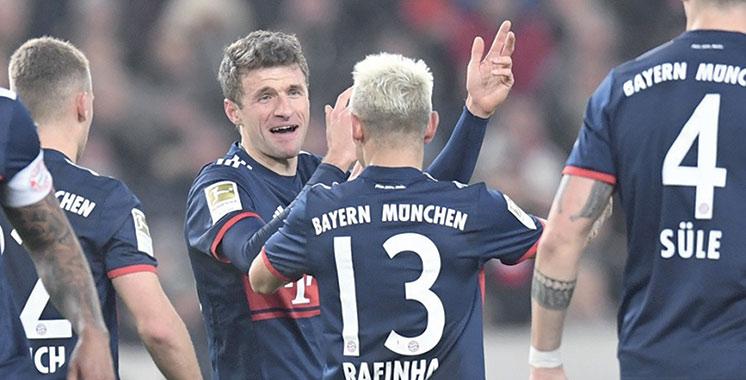 Bundesliga : Le Bayern lorgne le titre