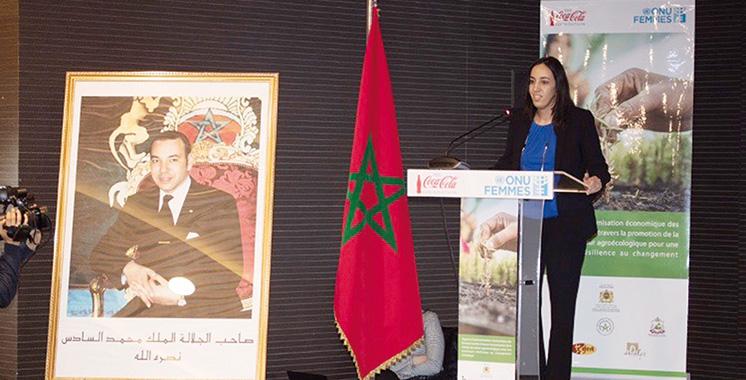 Un programme ONU Femmes-Coca-Cola Maroc bénéficie à 54 femmes agricultrices