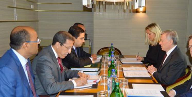 Bourita : Les discussions bilatérales avec Horst Köhler ont été «fructueuses»