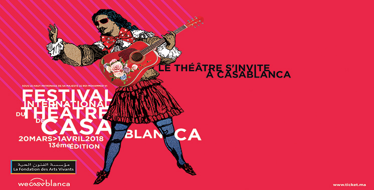 Festival théâtre et culture : 13 productions théâtrales au menu