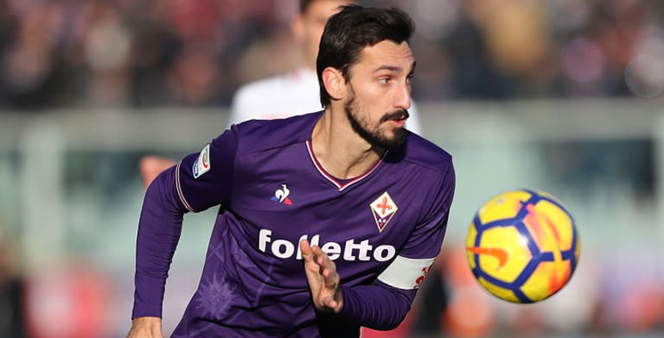 Italie: Décès de Davide Astori, capitaine de la Fiorentina