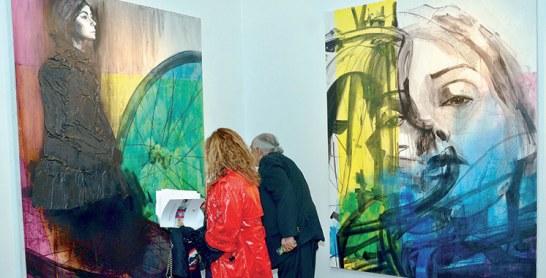 Exposition collective : La Banque populaire parraine huit jeunes peintres
