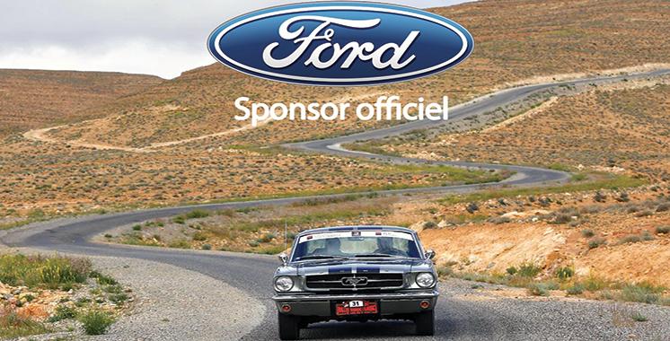 Rallye Maroc Classic : Ford Maroc, sponsor officiel de la 25ème édition