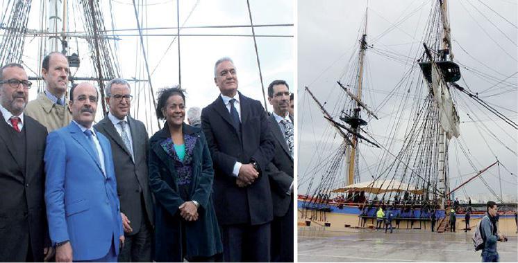 L'Hermione fait escale à Tanger : Un hymne à la paix et à la solidarité