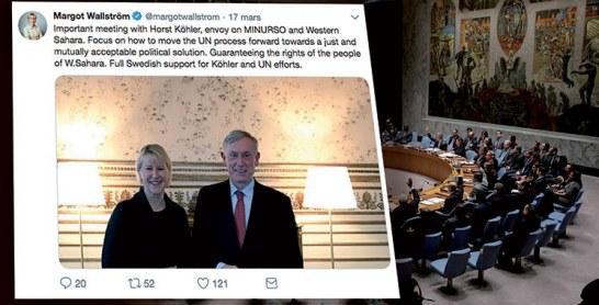 Sahara : Que vient faire la Suède dans cette affaire ?