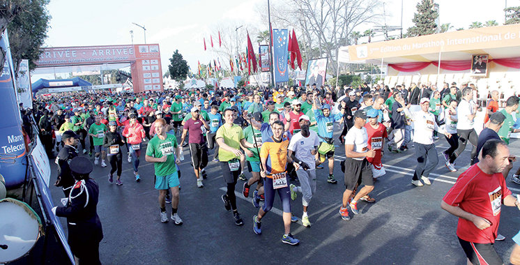 Marathon international  de Rabat : Les Marocains dominent le semi-marathon