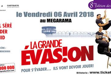 Les Théâtrales : « La grande  évasion » arrive à Casablanca
