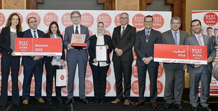 Le programme «Meilleurs employeurs au Maroc 2018» dévoilé : Voici le classement des entreprises où il fait bon travailler
