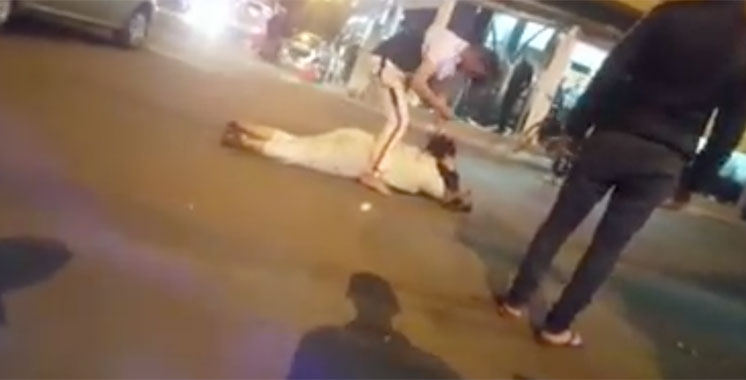 Agadir: Arrestation d'un individu apparu pour avoir agresser sa femme sur la voie publique à l'aide d'une arme blanche