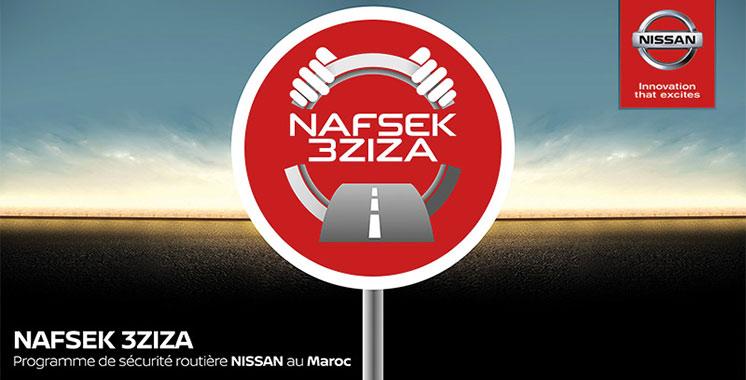 Sécurité routière : «Nafsek 3ziza», une campagne de sensibilisation signée Nissan