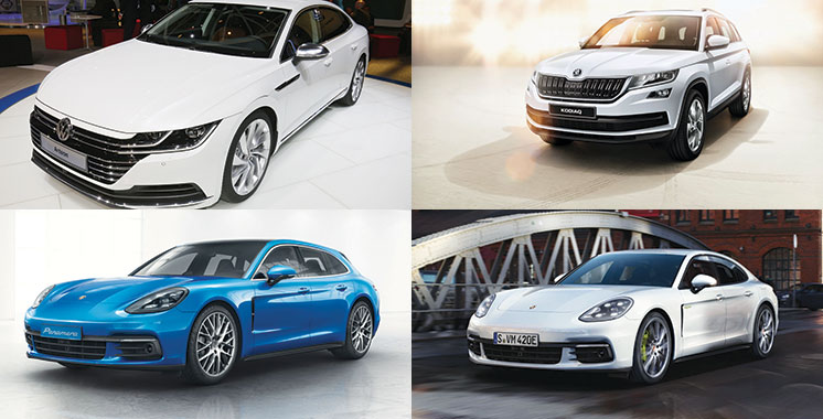 Porsche, Škoda, Volkswagen…. Du nouveau chez la Centrale chérifienne automobile !