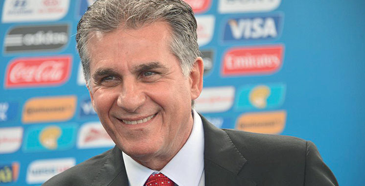 La fédération iranienne s'accroche  à son sélectionneur Queiroz
