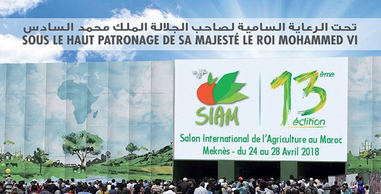 «Logistique et marchés agricoles», thème de la 13ème édition : Le SIAM de retour à Meknès du 24 au 28 avril