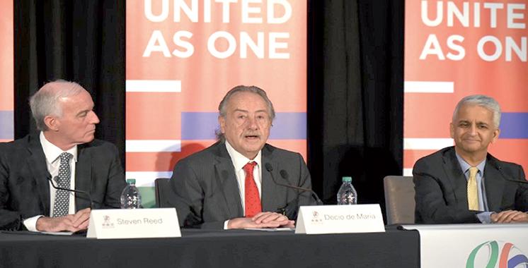 Mondial 2026 : La candidature Canada-Mexique-USA sera présidée par un trio