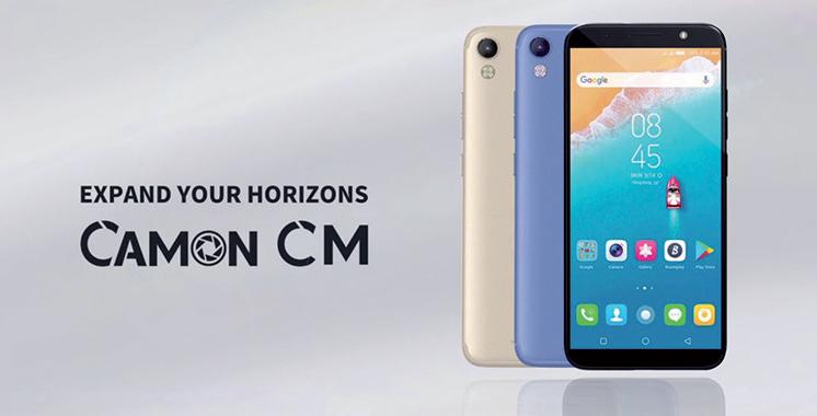 Tecno Mobile : Un nouveau smartphone s'ajoute à la gamme Camon