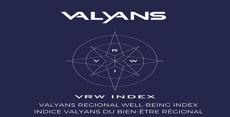 Indice du bien-être régional : Le Sud en tête du classement de Valyans