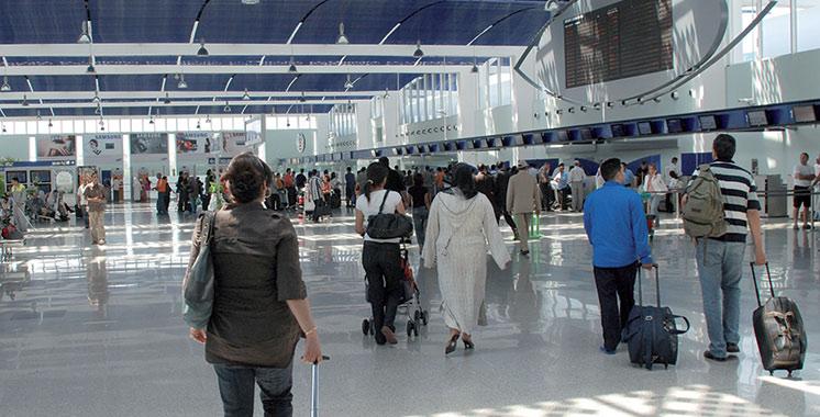 1,42 million de passagers à l'aéroport Mohammed V depuis janvier