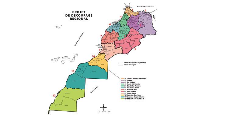 Une réforme structurelle de fond : Un nouveau Maroc en mode régionalisation avancée