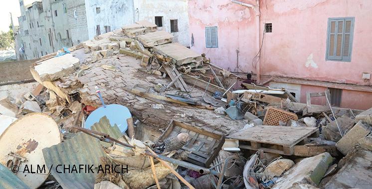 Habitat menaçant ruine : Encore des effondrements à Casablanca