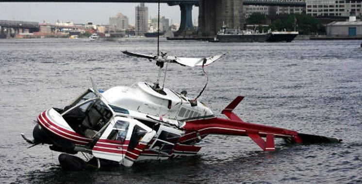 Au moins deux morts dans le crash d'un hélicoptère à New York