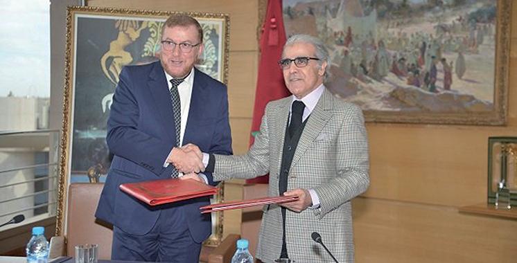 Impression des documents sécurisés : Le ministère de l'équipement et BAM signent un accord de partenariat