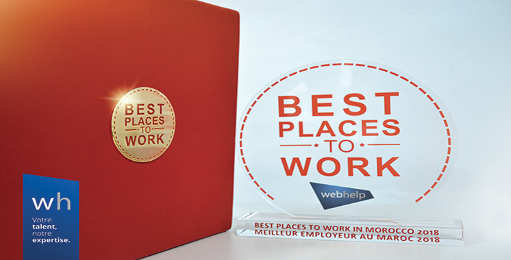 Le label «Best Places To Work» attribué  à  Webhelp