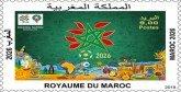 Emission d'un timbre-poste commémoratif »Maroc 2026″