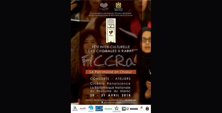 1ère édition de la Fête interculturelle des chorales de Rabat