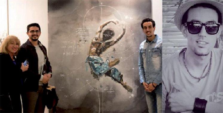 Aissa Joud expose chez «Le Chevalet»