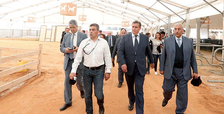 Les travaux avancent à grands pas : Une délégation officielle au site du SIAM